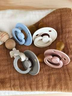 🚚 BIBS BPA-Free Natural Rubber Pacifier Soother
