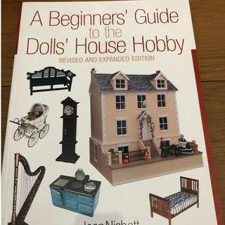 🚚 BOOK Destash ( Art / Craft / Design / Dolls / Hobbies / Minitature / Dollhouses ) - A Beginner's Guide to the Dolls' House Hobby Revised and Expanded Edition by Jean Nisbett