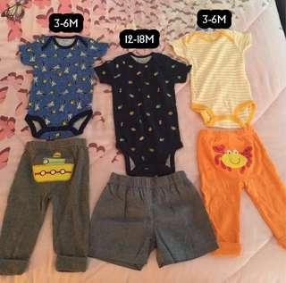 Carters set new and ori