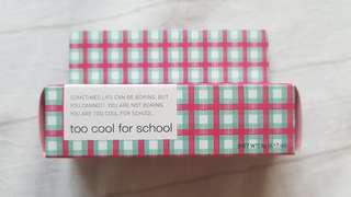 Too Cool For School - Creamy Blaster Korean Lip Tint #7 Lovable Red