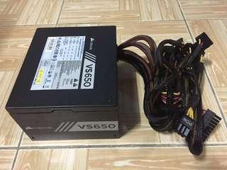 Corsair VS650 650 WATT Power Supply PSU for PC
