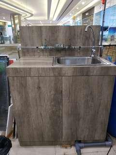 Sink with Cabinet
