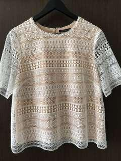 Lace Top Marks & Spencer