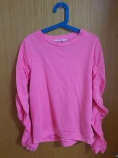 H&M kid pink sweater/ jacket