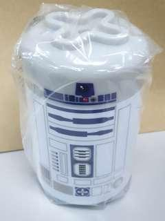 Star Wars - R2D2 plastic cup with cover