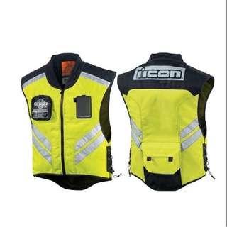 Icon Reflective Riding Vest