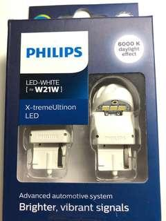 Philips x-treme ultinon w21w 6000k LED
