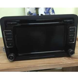 VW volkswagen radio player premium sound RCD510
