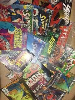 Classic comic books