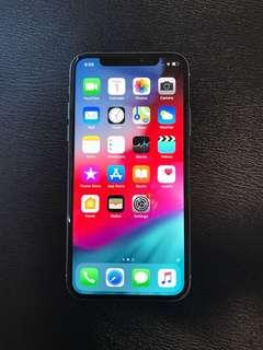 FOR SALE:IPHONE X 256GB (SILVER)