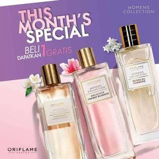 Parfum wanita series oriflame