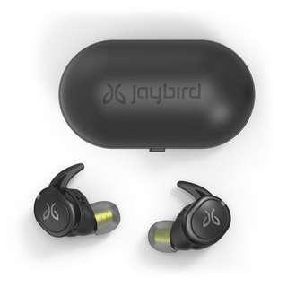 100% New Jaybird Run XT True Wireless Earphones ,原裝行貨1年保用,跟單