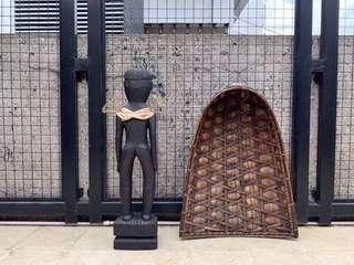 Bulul & Weaved Wall Decor