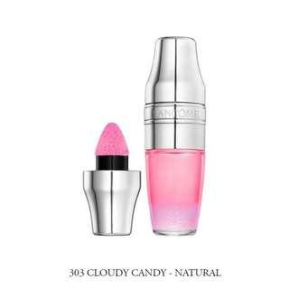 LANCOME JUICY SHAKER 唇彩Pigment Infused Bi-Phased Lip Oil Lip Gloss #303 CLOUDY CANDY