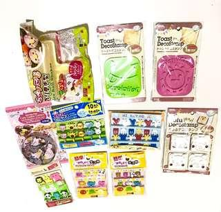 Baking, Cooking, Sushi making, Toast, birthday party 10 piece Diaso set
