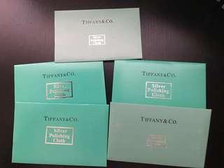 Tiffany silver polishing cloth 抹銀布