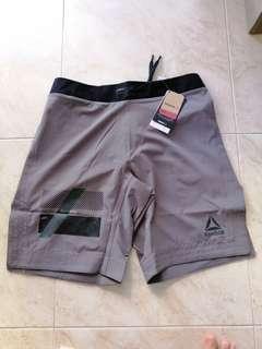 BN Reebok Combat Shorts Grey