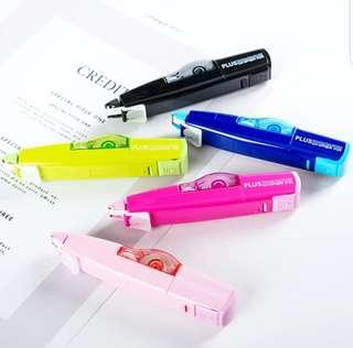 🚚 [PO] PLUS HIGHLIGHTER WHIPER MR CORRECTION TAPE WITH 10 REFILL PACK