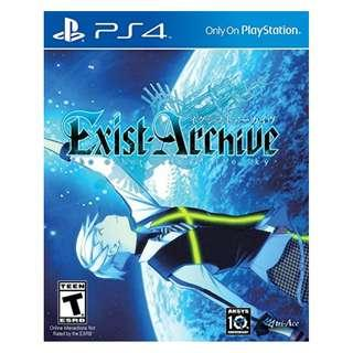 PS4 Exist Archieve : The Other Side of The Sky