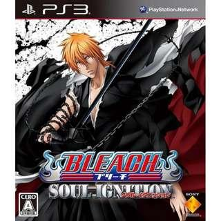PS3 Bleach Soul Ignition R2