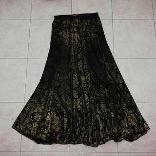 Reduce skirt kembang