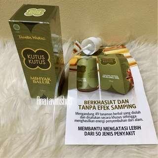 Original Minyak Kutus Kutus Bali BPOM Gratis Dompet Pouch