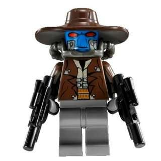 Lego Cad Bane minifigure from Star Wars