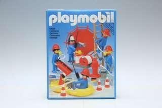 全新 Playmobil 3491 消防員 德國制造