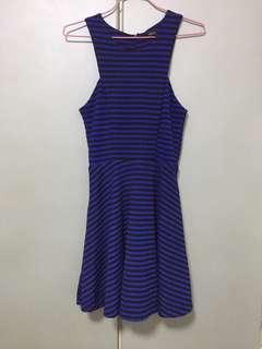 MDS halter dress