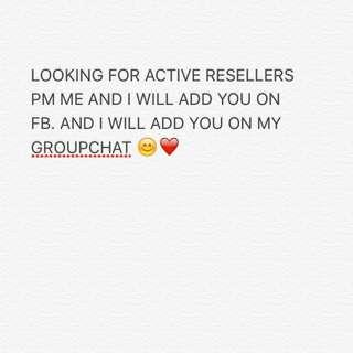 LOOKING FOR RESELLERS!!!