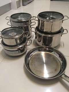 WMF 12pcs cooking set