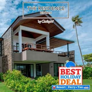 2D1N The Residence + 2-Way Ferry + Land Transfer + Breakfast