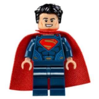 Lego Superman minifigure from DC Superheroes
