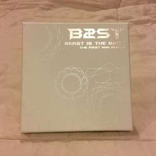 B2ST/BEAST 1ST MINI ALBUM - B2ST IS THE BEST
