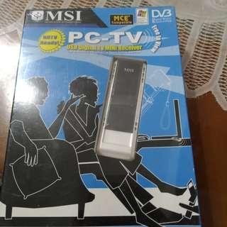 🚚 USB數位電視接收盒