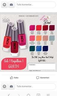 Kutek oriflame the one long wear nail polish