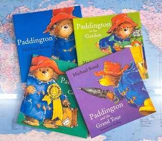 NEW~ Puddington 🐻Bear 4 big Book Set