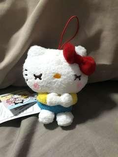 🚚 8cm Sleeping Hello Kitty Soft Toy