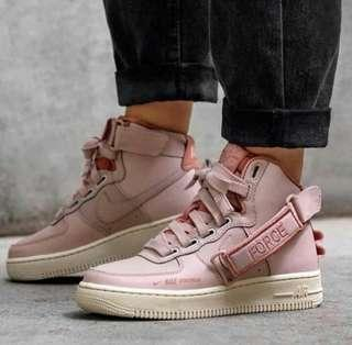 """NIKE AIR FORCE ONE MID """"PARTICLE PINK"""""""
