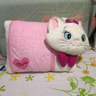 🚚 迪士尼 瑪麗貓 枕頭