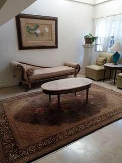 Original Italian oval marble table