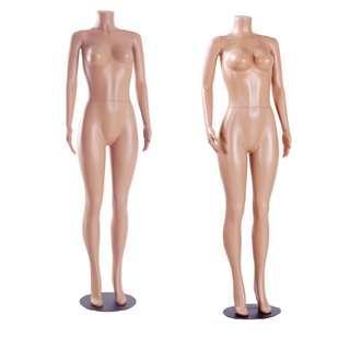BNIB Female mannequin headless full body Plastic