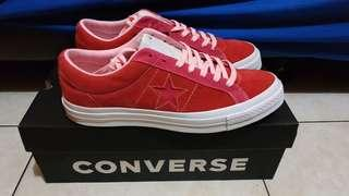 Converse one star ox red