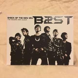 B2ST/BEAST/HIGHLIGHT 2nd Mini Album - Shock of The New Era