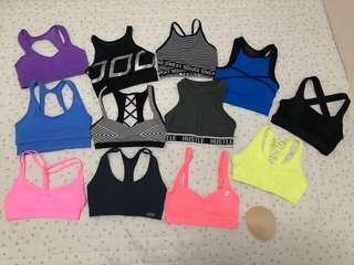Lorna Jane sports bras gym crops xs