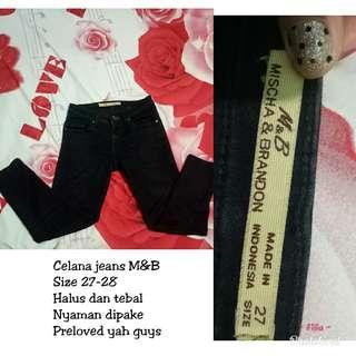 Jeans brand M&B
