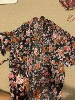 Cotton on body kimono robe
