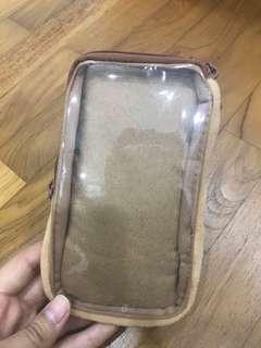 Authentic San-x rilakkuma phone pouch
