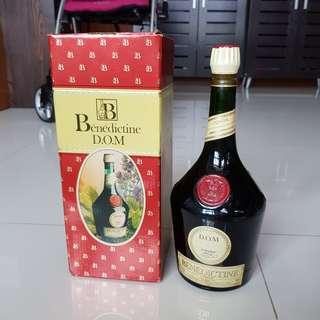 (Brand new) 1 Litre Benedictine D.O.M Herbal Liqueur