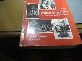 Systems of society social science